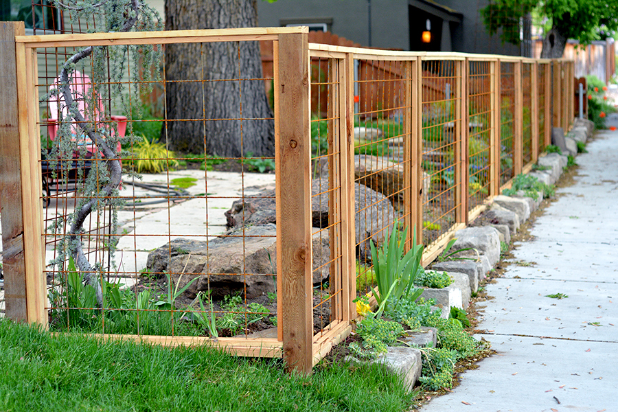 for Cool fence ideas