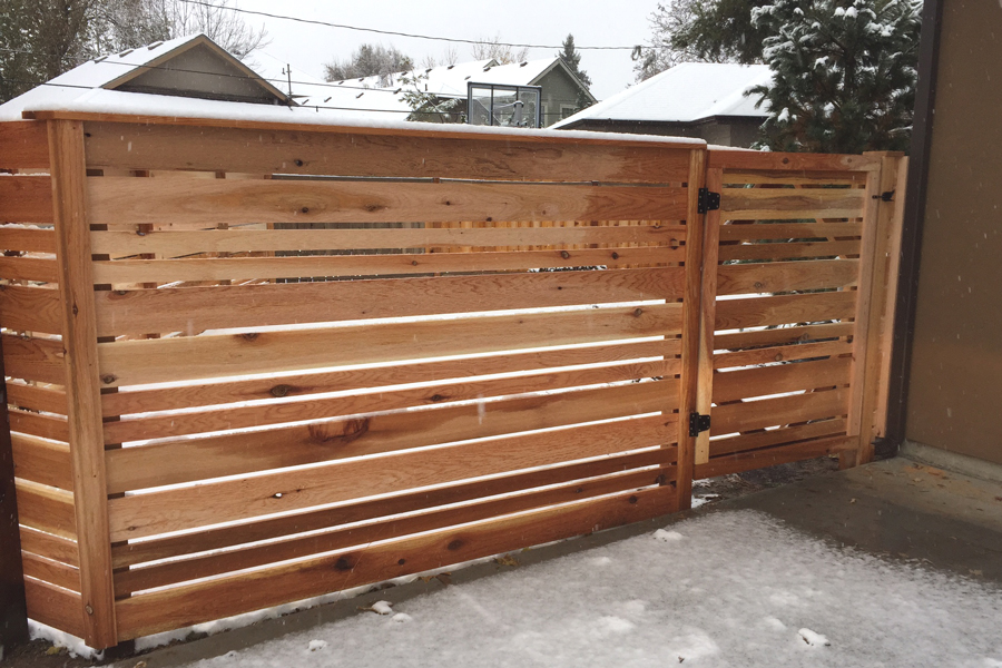 Depot Horizontal Fence Gate